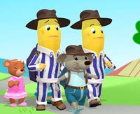 Bananas in Pyjamas 3